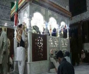 Shrine of Sufi Saint Baba Shah Noorani before blast