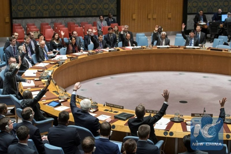UNSC unanimously supports Syrian ceasefire