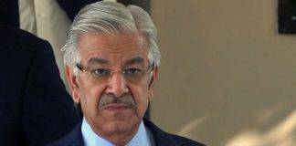Khawaja Asif in moscow