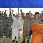 general qamar javed bajwa at mohmand agency