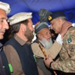 general qamar javed bajwa with tribal elders