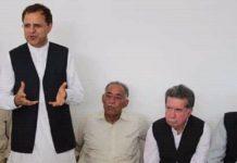 Afghan Ambassador to Pakistan Omar Zakhilwal visits Swabi to condole with family of Mashal Khan