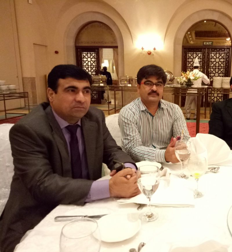 Reception was attended by a large number of diplomats, politicians, civil and military bureaucrats and senior journalists of Islamabad