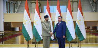 Emomali Rahmon appreciates assistance of Pakistan for strengthening security potential of Tajikistan