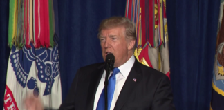 US President Trump speaks on Afghanistan issue
