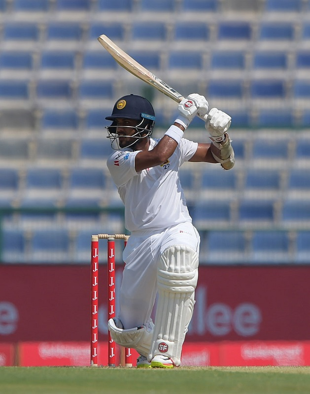 Dinesh Chandimal century boosts Sri Lanka against Pakistan