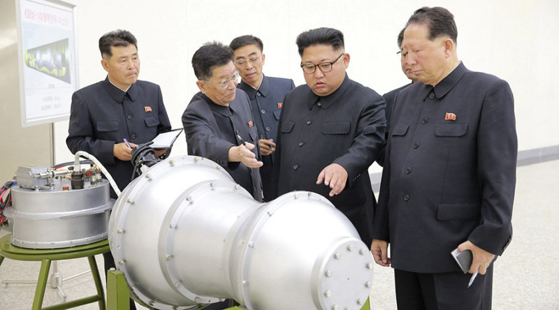 North Korea successfully tests ICMB mounted hydrogen bomb