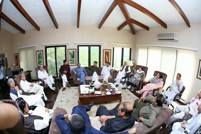 PTI lashes out at govt's vague, fragile policies on national issues