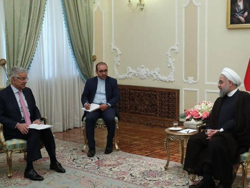 Asif held successful talks in Tehran with Iranian leadership