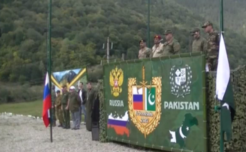 """Russian-Pakistani tactical exercise """"Дружба-2017 Friendship-2017 continues in Karachay-Cherkess Russia"""