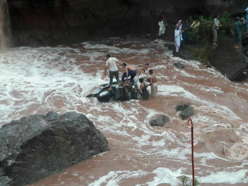 Six members of one family died in flash flood in Nakyal sector Azad Kashmir
