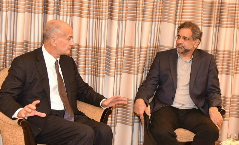 Pakistan open to investment by foreign companies: Khaqan Abbasi