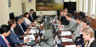 Greg Hands, Pakistan, UK reaffirm commitment to fortify bilateral trade ties