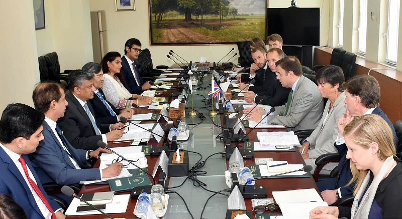 Pakistan, UK reaffirm commitment to fortify bilateral trade ties