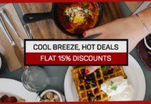 Cool breeze, Hot deals: Foodnerd Autumn Feast Brings Flat 15% Discounts