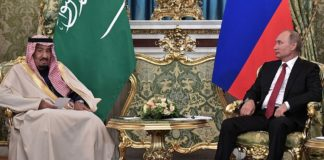 Transcripts of meetings of King Salman with Russian President Putin and Prime Minister Dmitry Medvedev