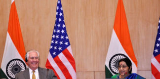 Joint press conference of Tillerson, Swaraj revolved around alleged presence of terrorists in Pakistan