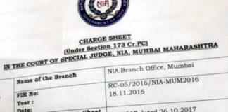 Zakir Naik charged sheet