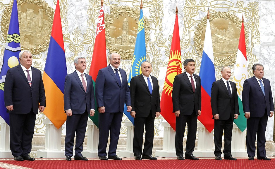 Armenian President participates in CSTO Collective Security Council sitting