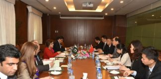 Chinese Assistant Foreign Minister for Asian and Consular Affairs Kong Xuanyou led Strategic Dialogue Pakistan