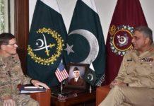 US CENTCOM Commander calls on General Bajwa