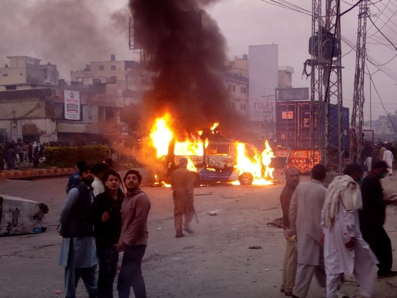 Journalists under attack as violence gripped Pakistan