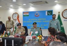 Pakistan Rangers-Indian Border Security Force meeting concludes in New Delhi