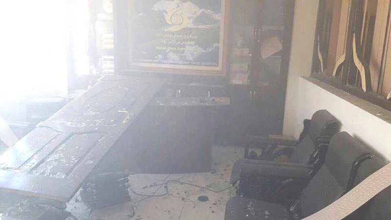 Afghan Voice News Agency at Tebyan Cultural Center Kabul attacked: 42 persons killed, 55 injured when suicide bomber detonated himself