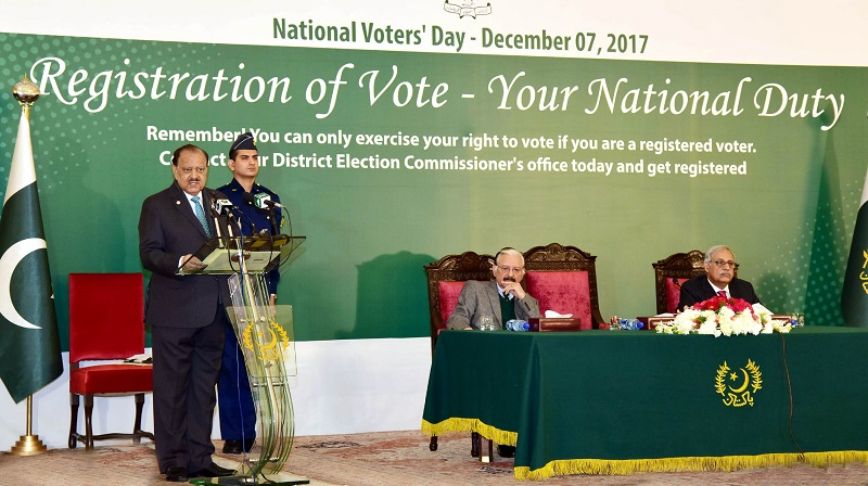 National Voters Day observed in Pakistan