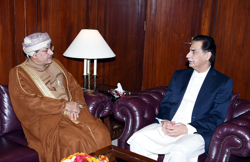 Ayaz Sadiq for taking Pakistan-Oman relations to new heights