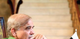 Shahbaz Sharif visits Orange Line Metro Train route as work resumes on project