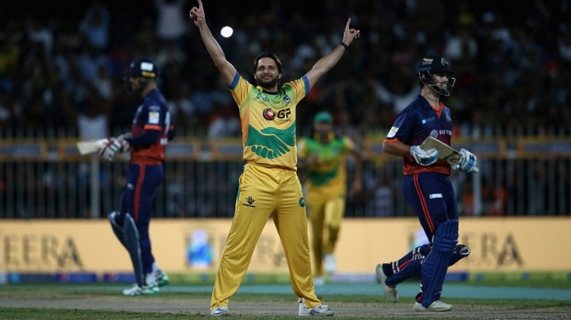 Afridi hat-trick, Hales blinder light up T10 League's opening day