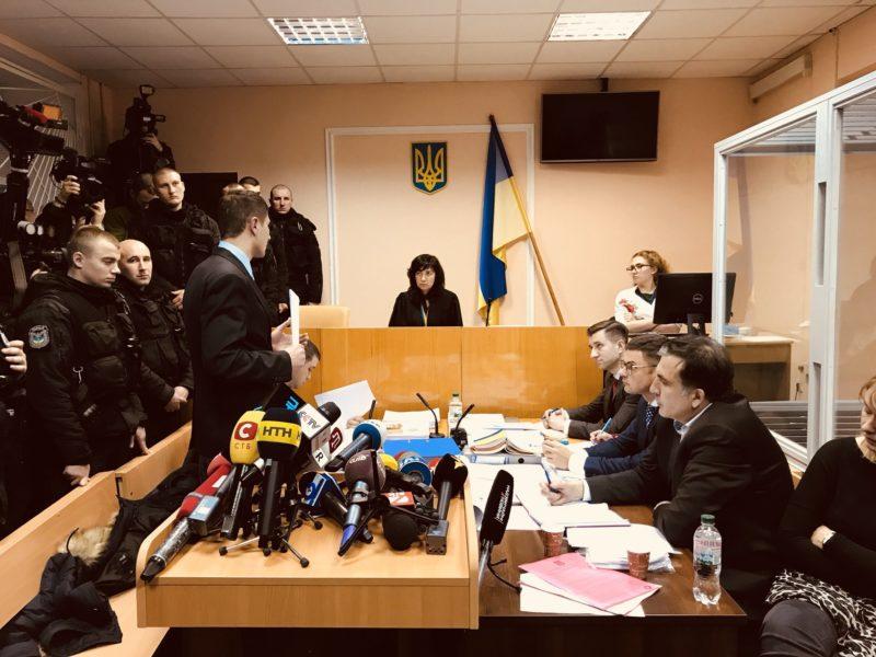 Ukraine moves for House Arrest of Saakashvili