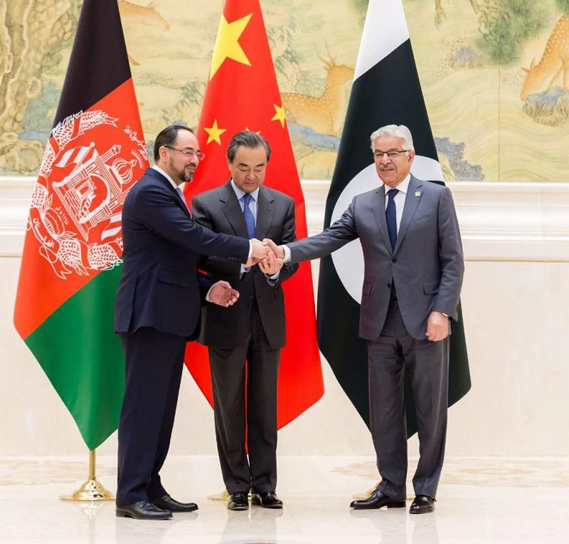 Pak-China-Afghan trilateral meeting stresses over talks with Taliban