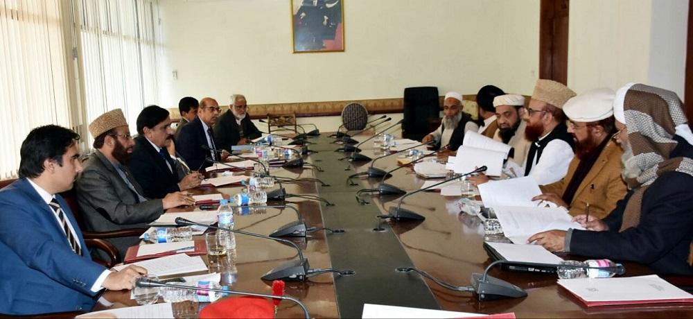 Nasser Janjua Chairs meeting held for mainstream of Madaris students