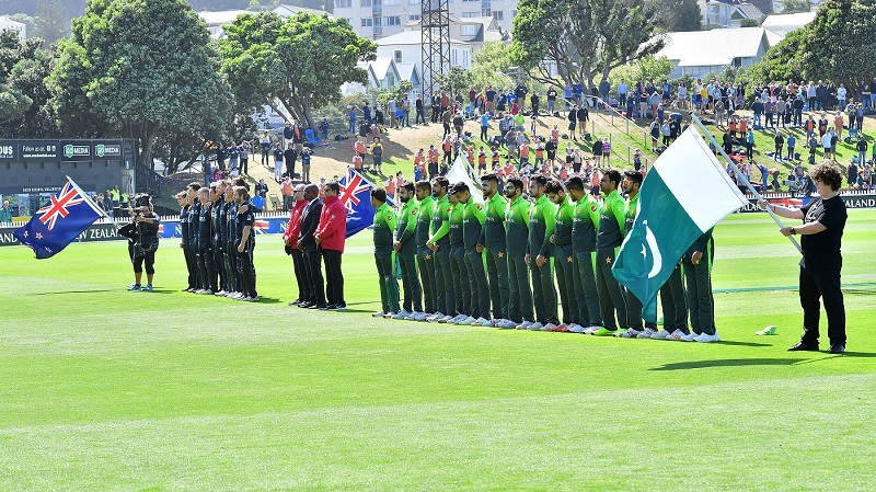Pakistan wins toss, bats in 2nd ODI vs. New Zealand