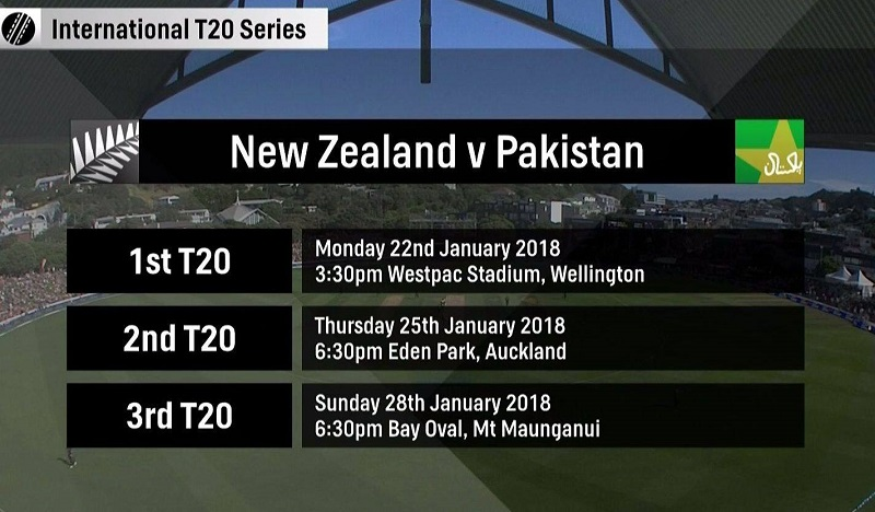 New Zealand continue winning streak over Pakistan
