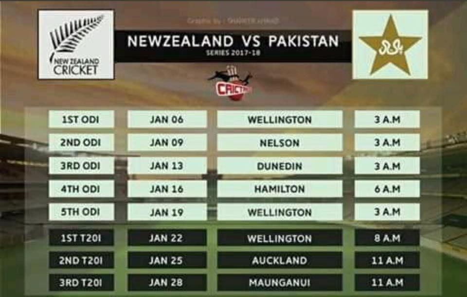 PTV Sports Pakistan vs New Zealand 1st ODI Live Streaming