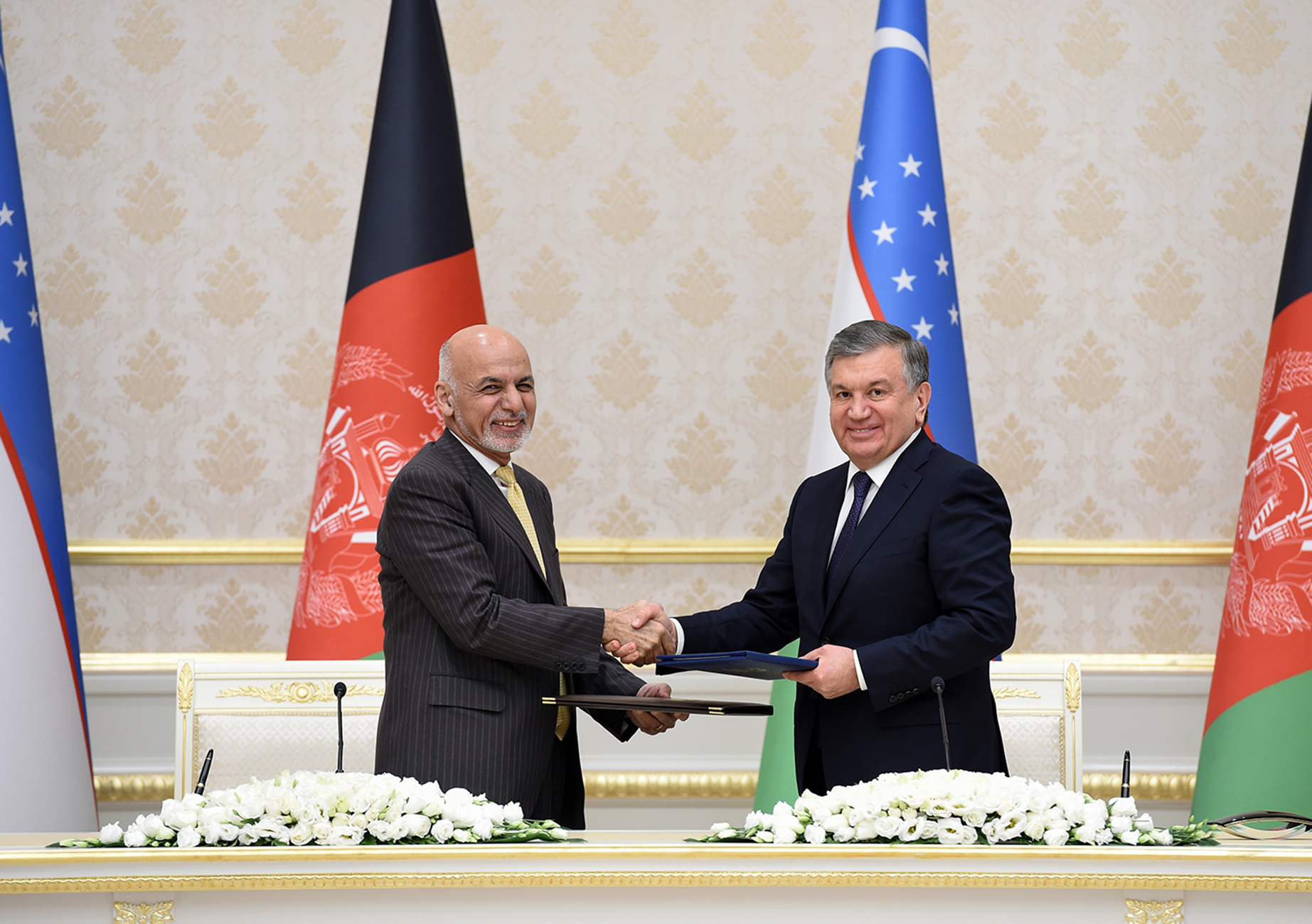 Uzbekistan and Afghanistan ink agreements for construction