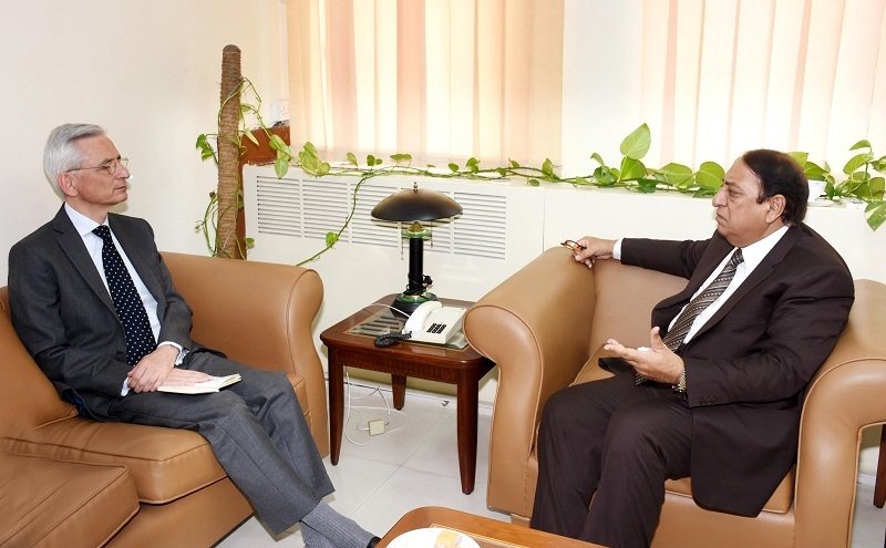 Rana Afzal invites French Companies to invest in food industry, pharmaceutical Sector