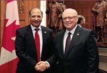 Tariq Azim sees potential for enhancing Pakistan-Canada trade