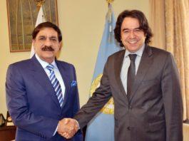 Turkish envoy meets Nasser Janjua, pledges Turkey's support to Pakistan in FATF meeting