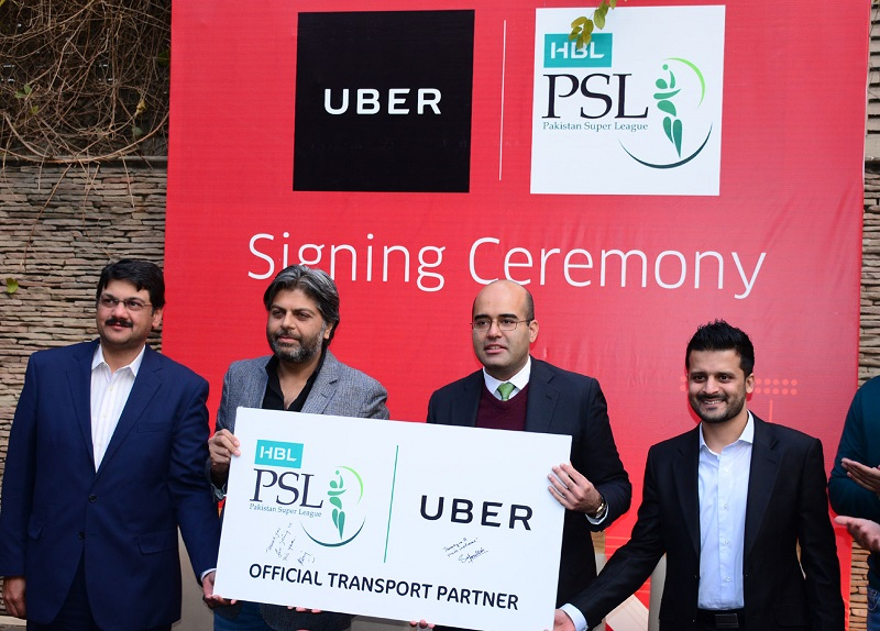 Uber gets on Cricket Pitch for HBL PSL 2018