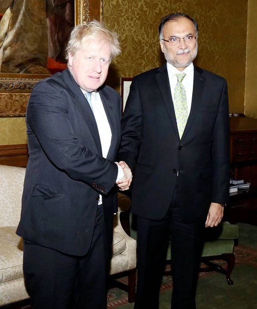 UK is hugely interested in CPEC: British Foreign Secretary