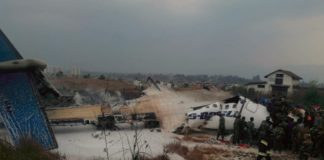 Bangladeshi Passenger Plane crashes at Kathmandu airport