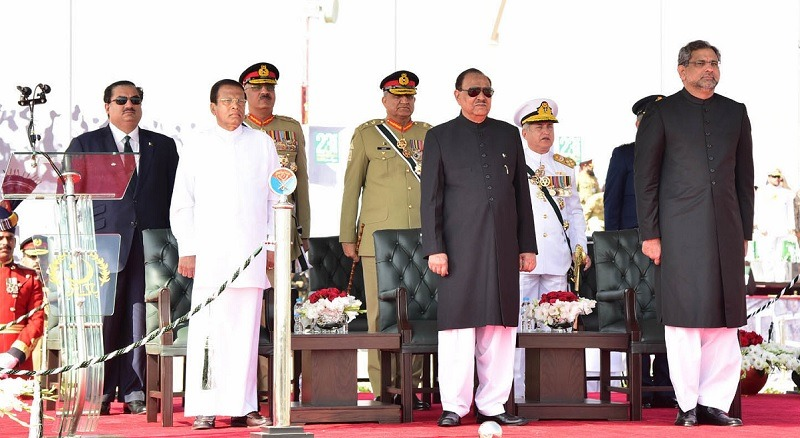 Pakistan, Sri Lanka agree to work together for regional peace