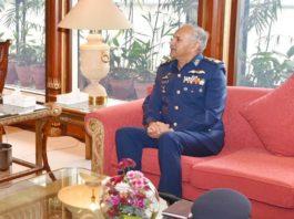 New Air Chief meets COAS