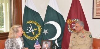 Pakistan expects regional Countries to play part for peace: Army Chief