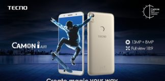 TECNO to boost up Camon series with sublime selfie centric Camon i Air