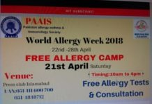 Free Allergy Camp organized at NPC